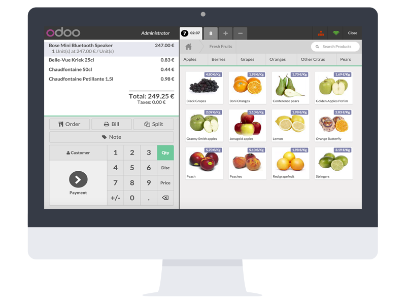 software odoo POS colombia